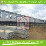 Casa móvil prefabricada de la estructura de acero del proyecto de Tailandia