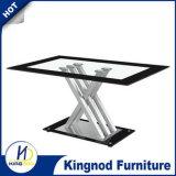 X форма Chromed таблица столовой обедая комплект