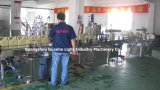 Engine automático Oil Filling Machine com Capping Sealing Labeling Line