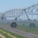 Sistema di irrigazione goccia a goccia per terreno coltivabile