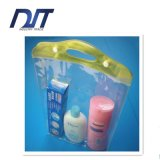 Sacchetto cosmetico trasparente di memoria del sacchetto del PVC del sacchetto poco costoso della lavata