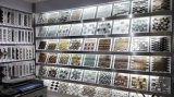 Het grijze Witte Kristal van de Mengeling en Ceramische Gemaakte Decoratie Materieel Mozaïek (CST212)
