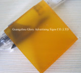Plastic Transparant Gegoten AcrylBlad voor de Reclame van Teken