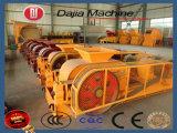 Triturador de rolo duplo para materiais de dureza média (escória de aço, pedra calcária, carvão de coque, etc.)