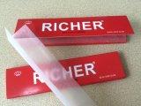 Extra fino 14G 110 * 44 mm fumar Rolling papel con marca de agua