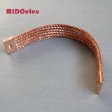 Conector trançado de ponta flexível de cobre de alta qualidade