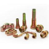 Encaixe de tubulação hidráulico masculino métrico da mangueira do aço de carbono do fabricante (10611)