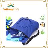 新しい女性の人のショッピング・バッグのドローストリングのバックパック旅行スポーツの学生かばんの折るトートバック