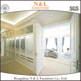 De moderne Witte Houten Kast van het Kabinet van de Slaapkamer van het Triplex