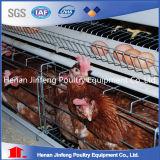 Cage galvanisée de couche de poulet d'oiseau d'acier inoxydable à vendre