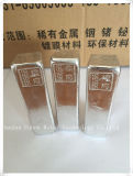 Lingot 99.995% d'indium de grande pureté