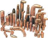 Tampões do elétrodo, pontas, bocais, difusores e braços do injetor