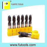 Dos herramientas que muelen de la nariz de la bola de las flautas con la capa de Altin