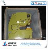 Máquina del acoplamiento de la palpitación de la hoja de acero, orificio redondo que hace la máquina