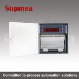 Calibração circular do medidor de Barton do controlador do registrador da temperatura da gravação