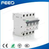 Corta-circuito de potencia de la CA MCB de Fe7-63 4p