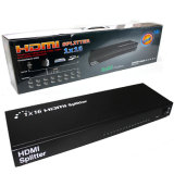 1 tot 16 Steun 3D 1 voerde 16 de Splitser van de Output in 1.3V 1080P 1X16 HDMI