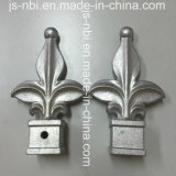 Diifferent Color Wought Alumínio Spearhead de Garden Gates para Sand Casting