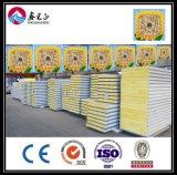 China EPS de pouco peso, lã de rocha, de sanduíche do plutônio painel para o telhado e parede da casa do recipiente ou de casa/casa de campo pré-fabricadas Villadom (XGZ-0390)