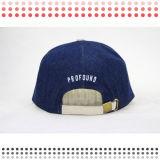 2016 sombrero de cuero del Snapback del camionero del panel de la manera 6