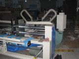 Auto máquina ondulada da caixa que dobra-se colando a máquina