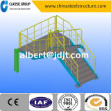Escalera fácil/escalera de la estructura de acero de la asamblea con diseño