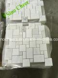 Mattonelle di marmo bianche orientali per il rivestimento della parete