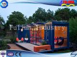 Het geprefabriceerde/PrefabHuis van de Container voor Gezinsleven (ssw-p-014)