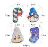 Socks Design Toalha Comprimida De Natal (YT-681)