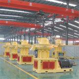 1.5t meurent le prix en bambou de machines d'usine de moulin de boulette de biomasse d'herbe de luzerne en bois verticale de sciure