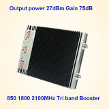 세 배 악대 CDMA 850 PCS 1900 3G 2100MHz 신호 승압기 (ST-CPW27)