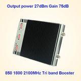 Tri Signal-Verstärker des Band-CDMA 850 PCS 1900 3G 2100MHz (ST-CPW27)