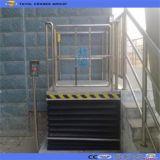 Elevación del elevador del sillón de ruedas con el protector contra el polvo