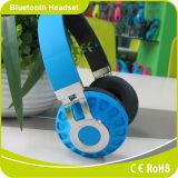 Solução elevada Foldable da qualidade do som da forma com os auriculares de Bluetooth do lazer do jogo de cartão do SD