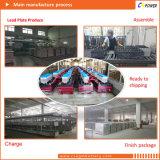 Bateria profunda do AGM do ciclo de Cspower 2V300ah para o sistema de energia solar, fabricante de China