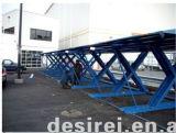 Zwei Zylinder-freier Fußboden-hydraulischer Selbstaufzug des Pfosten-zwei/Auto-Aufzug