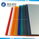 10 años de la garantía del policarbonato de panel plástico de la depresión para la azotea del edificio