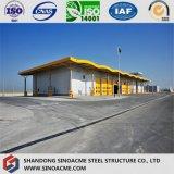 Magazzino logistico della struttura d'acciaio dell'ampia luce