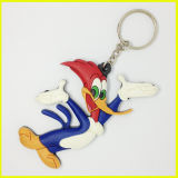 Transformadores chapeados prata Keychain do metal