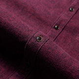 Het Lange Overhemd van uitstekende kwaliteit van het Polo van de Koker voor Mensen 100% Mensen van de Katoenen Recentste Ontwerpen van het Overhemd