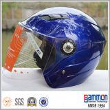 Классический серебряный шлем мотоцикла/самоката на сбывании (OP203)
