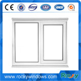 Casement de vidro Windows do PVC do vinil do dobro branco da cor para o edifício Home