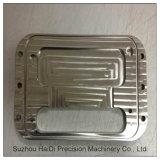 Aluminium, Messing und Edelstahl Ect CNC, der vorbei maschinell bearbeitet, zeichnet