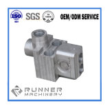 Pièce d'usinage CNC en fonte d'acier OEM pour pompe