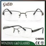 La última lente Eyewear del marco óptico de los vidrios del metal de la alta calidad