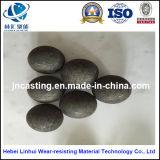 Esferas de moedura de aço forjadas B 2/esfera de aço laminada a alta temperatura/esferas de aço da moagem