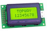 Zeichen 8X2 LCD-Bildschirmanzeige alphanumerischer PFEILER Typ LCD-Baugruppe (LMB0820)