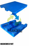 Pallet di plastica utilizzato di immagazzinaggio a lungo termine di industria pesante 1200*1000