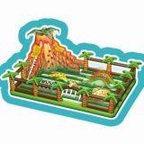 Beifall-Unterhaltungs-Innendschungel-themenorientierter aufblasbarer Prahler