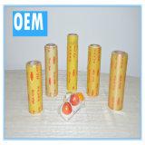 FDA/RoHS PE van de Film van de Omslag van het Fruit van het Voedsel klampt PE van de Film zich van de Rek Film vast